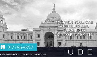 Uber Kolkata Taxis are always in great demand in Kolkata round the year, and during the special occasions such as Durga Pooja, the demand reaches the rooftop